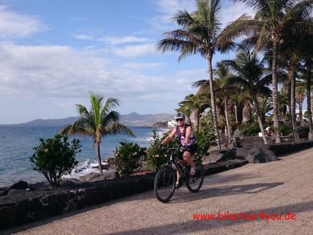 An der Küste bei Puerto Del Carmen